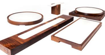 Woodi das Design Holzbrett mit Funktion