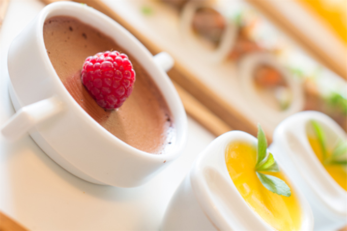 Titel: a la carte frühstück - Beschreibung: seviertes frühstück im steirischen restaurant malerwinkl nahe der riegesburg. regionale produzente liegen uns am Herzen