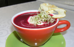 rote Rübensuppe