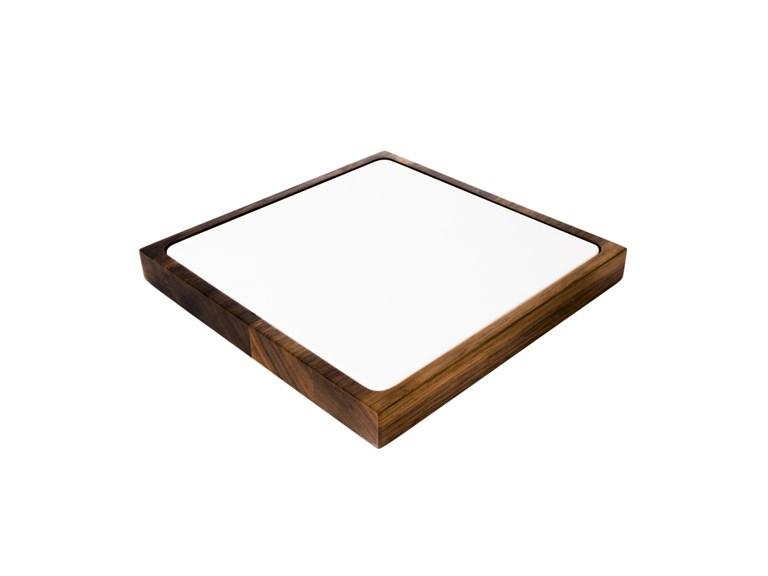 Quadrat Elegant: Quadrat Elegant23 x 23 x 2,5 cm   Das Elegantevon Woodi...formschön zeitlos
